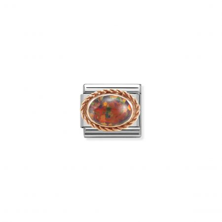 Nomination Composable Classic Unisex  Link RED OPAL