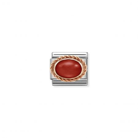 Nomination Composable Classic Unisex  Link RED CORAL