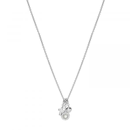 Fossil Sterling Silver Ladies` Necklace