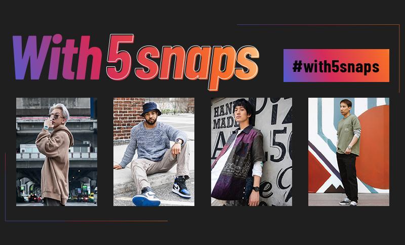 Seiko 5 Sports   With 5 snaps