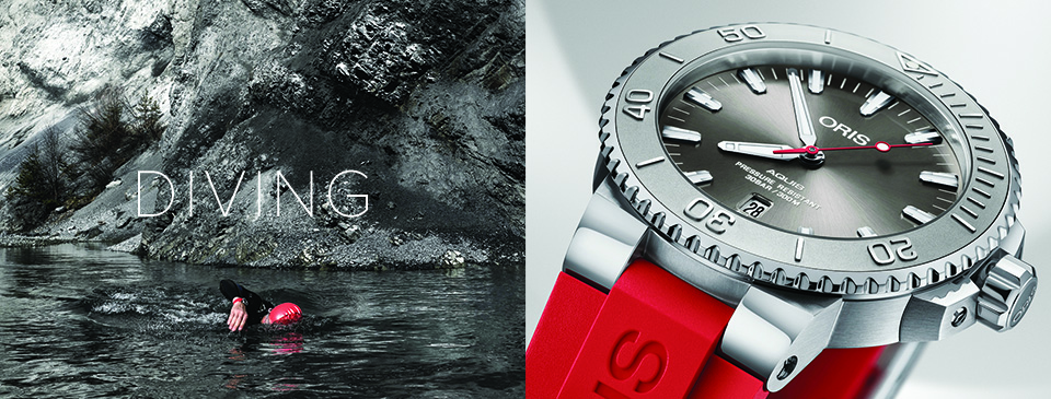 ORIS - Diving collection