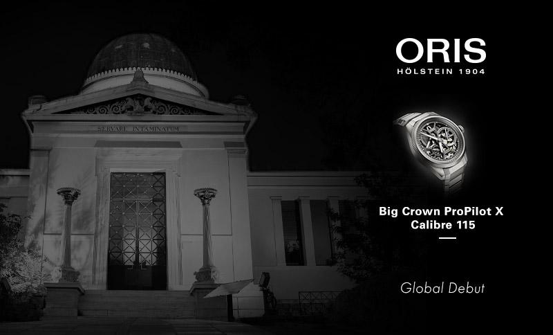 Παρουσίαση του νέου ORIS Big Crown ProPilot X στο Ε.Α.Α.